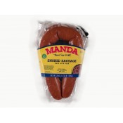 Manda's Smoked Green Onion Pork Sausage 28 oz