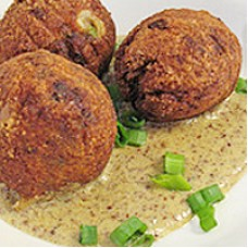 BIG EASY Pork Boudin Balls
