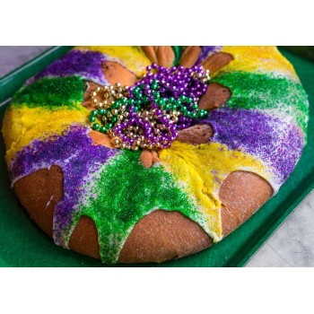 Cartozzo's Bavarian Cream King Cake