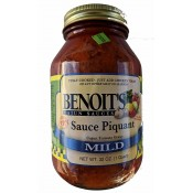 Benoit's Sauce Piquant - Mild