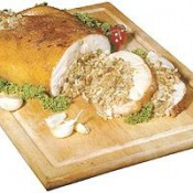 Big Easy Stuffed Chicken with Pork Rice Dressing