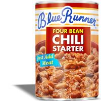 Blue Runner Four Bean Chili Starter 27 oz
