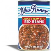 Blue Runner New Orleans Spicy Red Kidney Beans 16 oz
