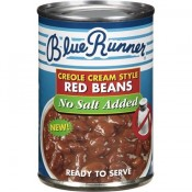 Blue Runner Red Beans No Salt 16 oz