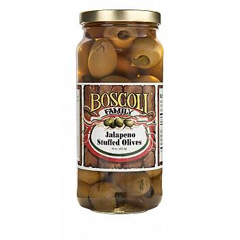 Boscoli Jalapeno Stuffed Olives