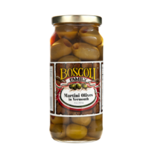 Boscoli - Martini Olives in Vermouth 16 oz.