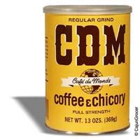 CDM Dark Roast Coffee & Chicory (Regular Grind Can) 13 oz