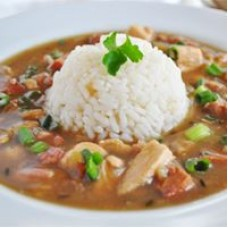 CHEF JOHN FOLSE Louisiana Chicken & Sausage Gumbo