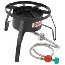 CRAWFISH BURNER HP Cooker w/Full Windscreen