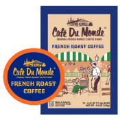 Cafe Du Monde - French Roast Coffee 12 - Single Serve Cups