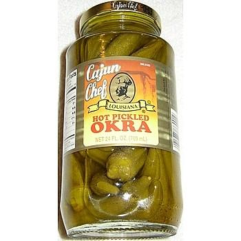 Cajun Chef, Hot Pickled Okra