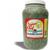Cajun Chef Diced Jalapeno Peppers Gallon