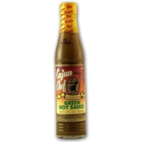 Cajun Chef Louisiana Green Hot Sauce 3 oz