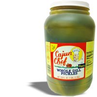 Cajun Chef Whole Dill Pickles Gallon