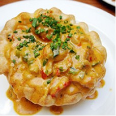 Cajun Original Cajun Crawfish Pie 5 inch