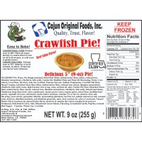 Cajun Original Crawfish Pies 15 - 9 oz Pies