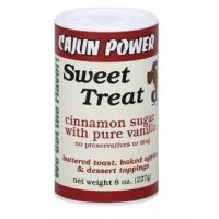 Cajun Power Sweet Treat Cinnamon Sugar with Pure Vanilla 8 oz