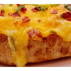 Cajun Specialty Meats Bacon Stuffed Twice Baked Potato