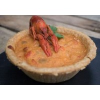 Cajun Specialty Meats Crawfish Pie 5 inch 11 oz