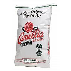 Camellia Green Baby Lima Beans 25 lb Bag