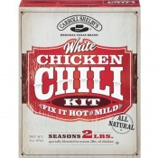 CARROLL SHELBY'S White Chicken Chili Kit