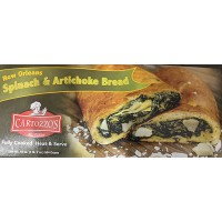Cartozzo's Spinach & Artichoke bread 18 oz