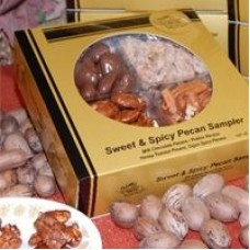 Classic Golden Pecans Sweet & Spicy Pecan Sampler