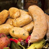 Comeaux's Alligator Boudin - PARTY LINKS 1 lb