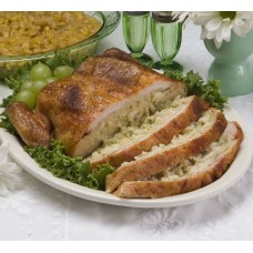 Deboned Chicken Stuffed with Broccoli, Cheese & Rice