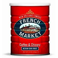 French Market Coffee & Chicory Creole Roast 12 oz