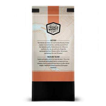 French Market Coffee Flavored Hazelnut 12 oz