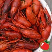 Fresh Boiled Crawfish 5 lbs. Seasoned Field Run
