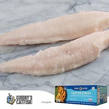 Guidrys Catfish Strips (IQF)