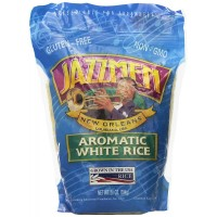 Jazzmen - White Rice 28 oz Pouch Bag
