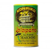 Konriko Jalapeno All Purpose Seasoning 3.25 oz
