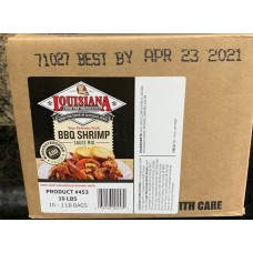 Louisiana Fish Fry BBQ Shrimp Sauce Mix 10 - 1lbs Box