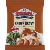 Louisiana Fish Fry Brown Gravy Mix 1.5 oz