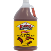 Louisiana Fish Fry Crawfish Crab & Shrimp Boil Liquid Concentrate Gallon