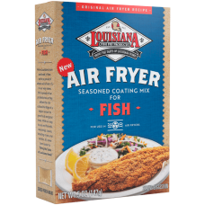 LA Fish Fry Fish Air Fryer Seasoned Fish Coating Mix
