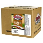 Louisiana Fish Fry Gumbo Base - 10 1lb bags