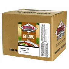 LA Fish Fry Gumbo Base - 10 1lb bags