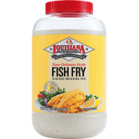 Louisiana Fish Fry New Orleans Style Lemon Fish Fry Gallon