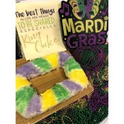 Let Them Eat King Cake - Basket