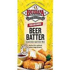 Louisiana Fish Fry -  Beer Batter Fish Fry (25 lbs)