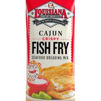 Louisiana Fish Fry Cajun Crispy Fish Fry 25 lb Box