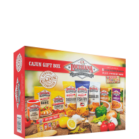 Louisiana Fish Fry Cajun Gift Box