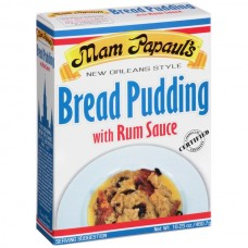 Mam Papaul's Bread Pudding with Rum Sauce