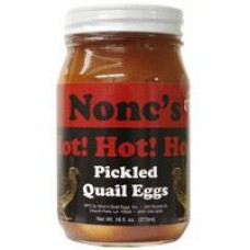 Nonc's Pickled Quail Eggs Hot