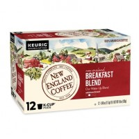 New England Breakfast Blend Single Serve 12 KCups