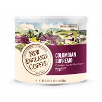 New England Coffee Colombian Supremo 30 oz can